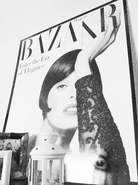Harper´s Bazaar en el salón