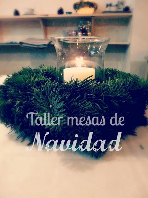 Taller de Mesas de Navidad con Sonia Escribano