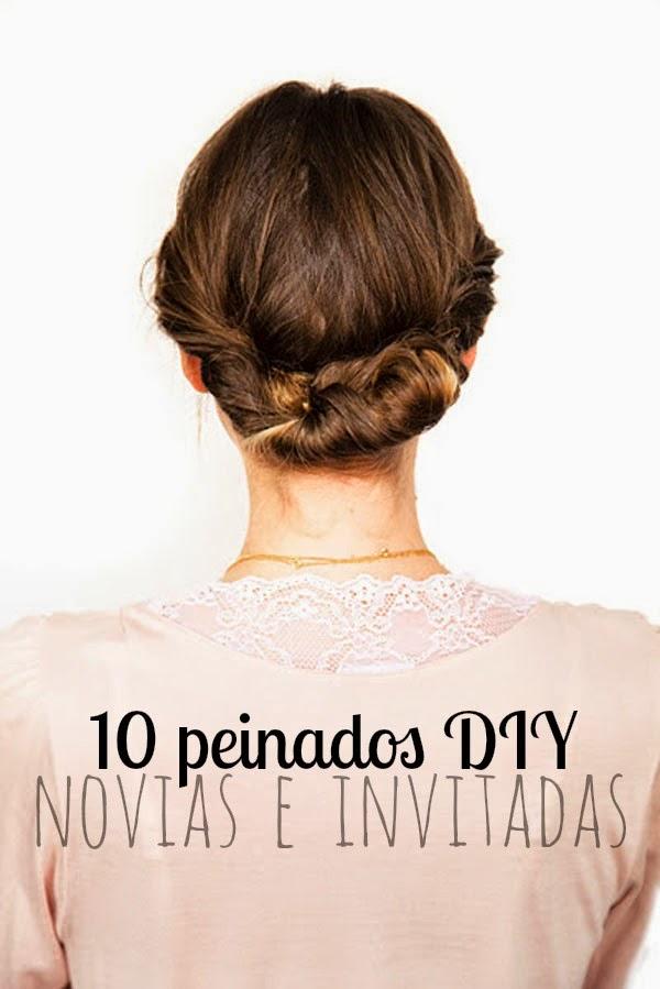 10 Peinados Diy De Novia Tambien Para Invitada Antojada Por Vocacion