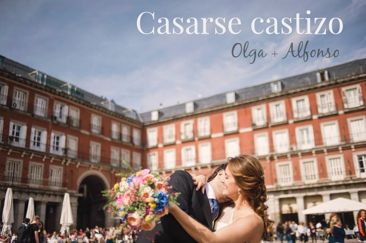 Casarse castizo. La madrileña boda de Olga y Alfonso