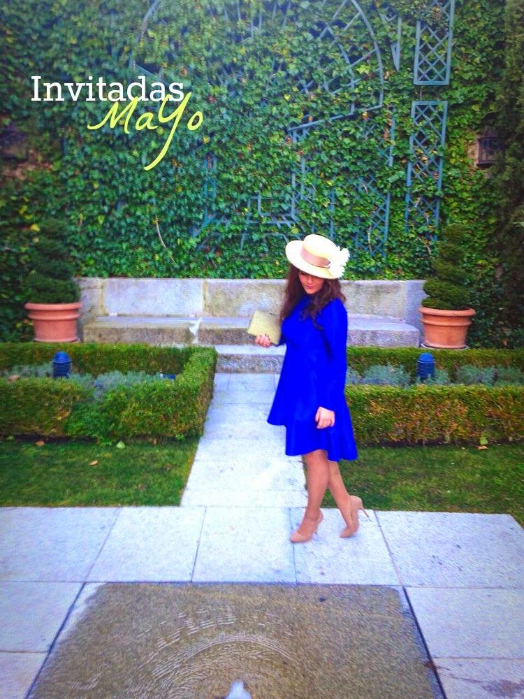 Marta, invitada con vestido MaYo a medida