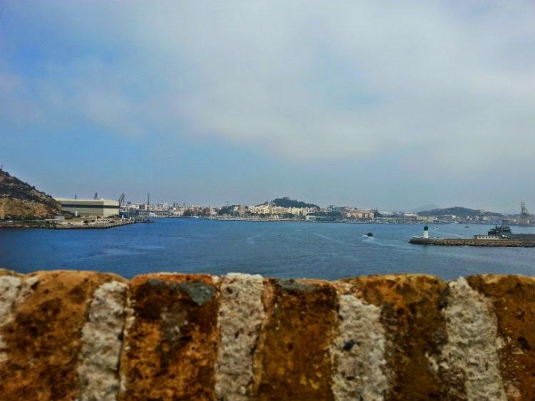 Vistas desde Fuerte de Navidad Cartagena