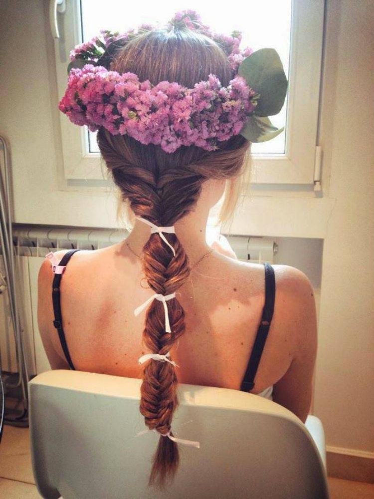 30 peinados trenzados para novias