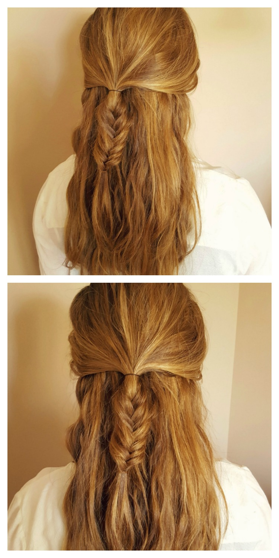 Los 3 últimos peinados que me he hecho
