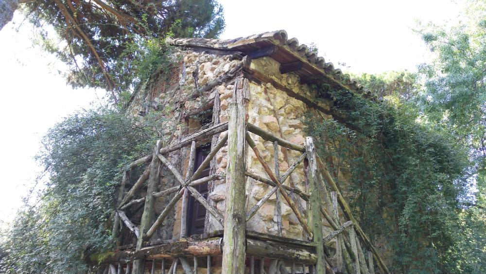 Casa de la vieja Parque El Capricho