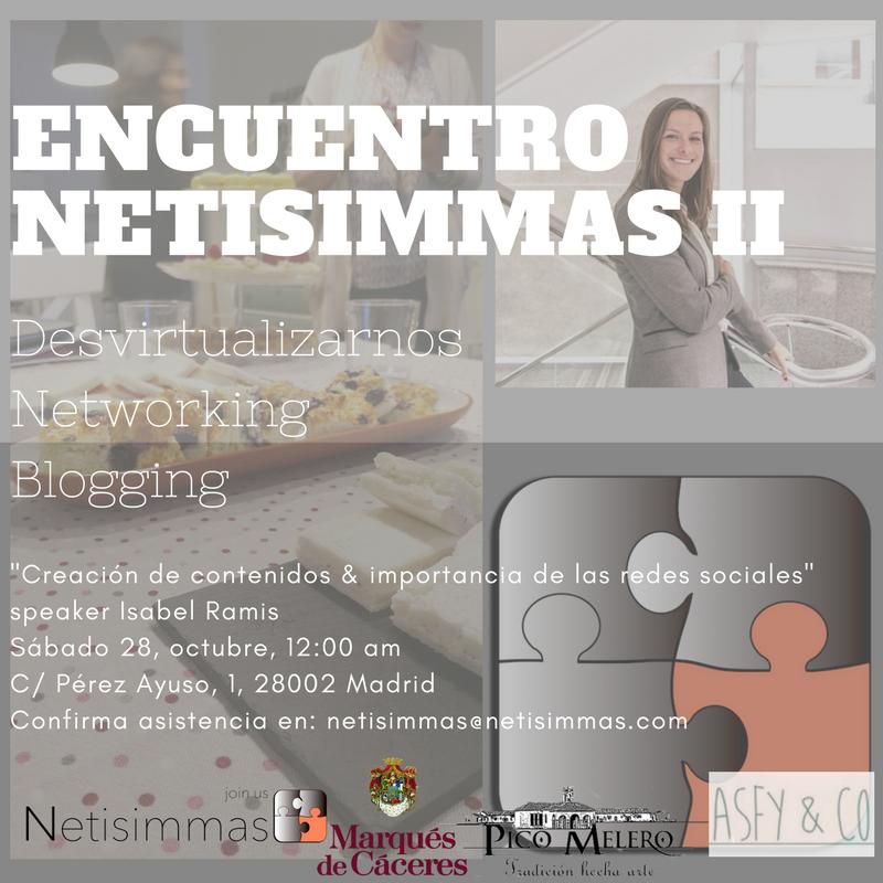 II Encuentro Netisimmas