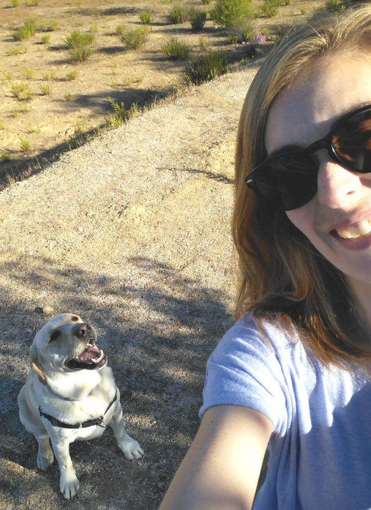 Paseo con mi perro