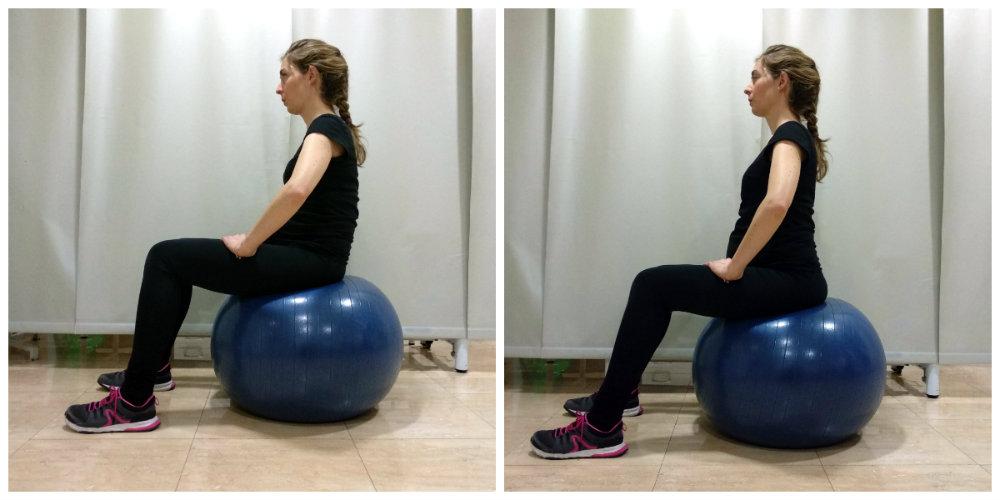 ejercicios preparación al parto pelota pilates