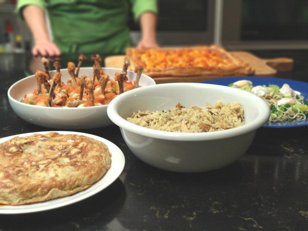 5 recetas de cocina rápida
