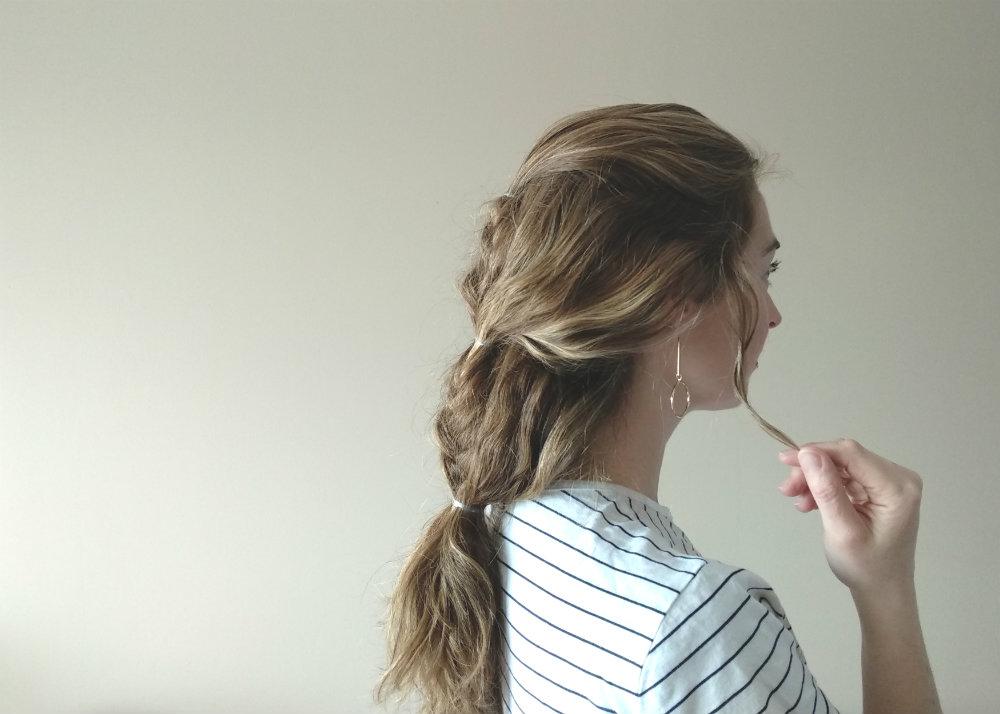 3 peinados con particiones del cabello